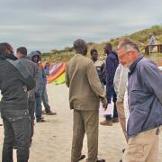 19 mai 2016 - Stintino - colloquistes à la plage - 3