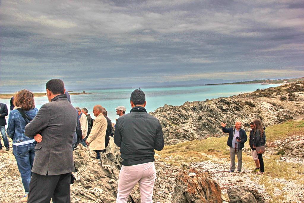 19 mai 2016 - Stintino - colloquistes sur gneiss - 2