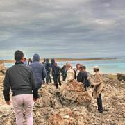 19 mai 2016 - Stintino - colloquistes sur gneiss - 4