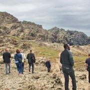 19 mai 2016 - Stintino - colloquistes sur gneiss - 5