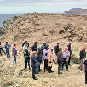 19 mai 2016 - Stintino - colloquistes sur gneiss