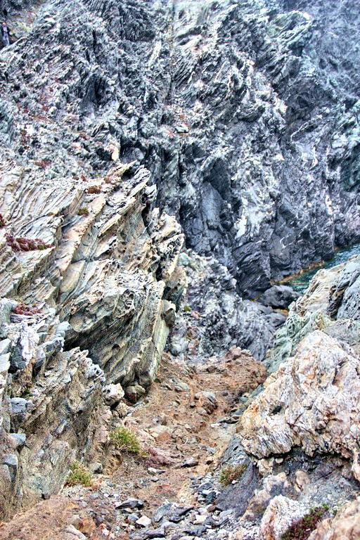 19 mai 2016 - Stintino - falaise et vallon de faille