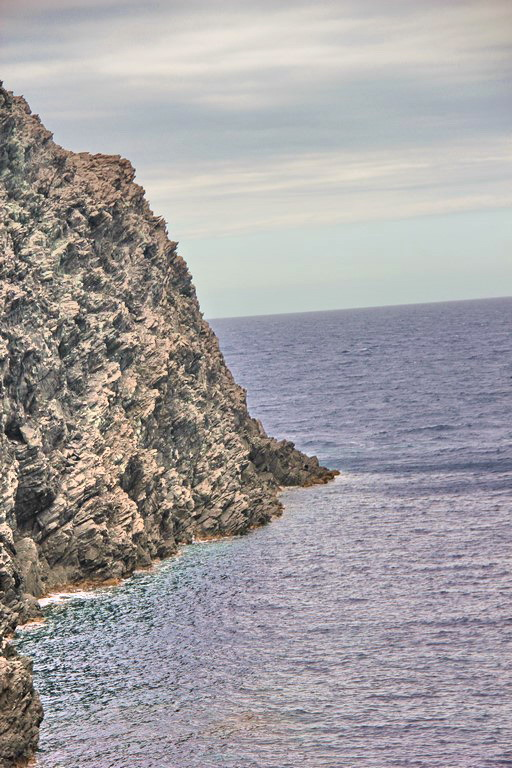 19 mai 2016 - Stintino - falaise sur faille - détail