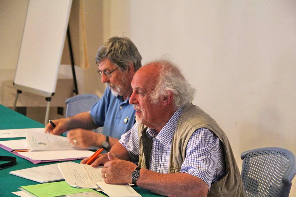 19 mai - Assemblée générale de l'AFGP - André Ozer et Jean-Louis Ballais