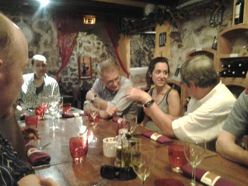 Aix-en-Provence - Le Zinc d'Hugo - repas