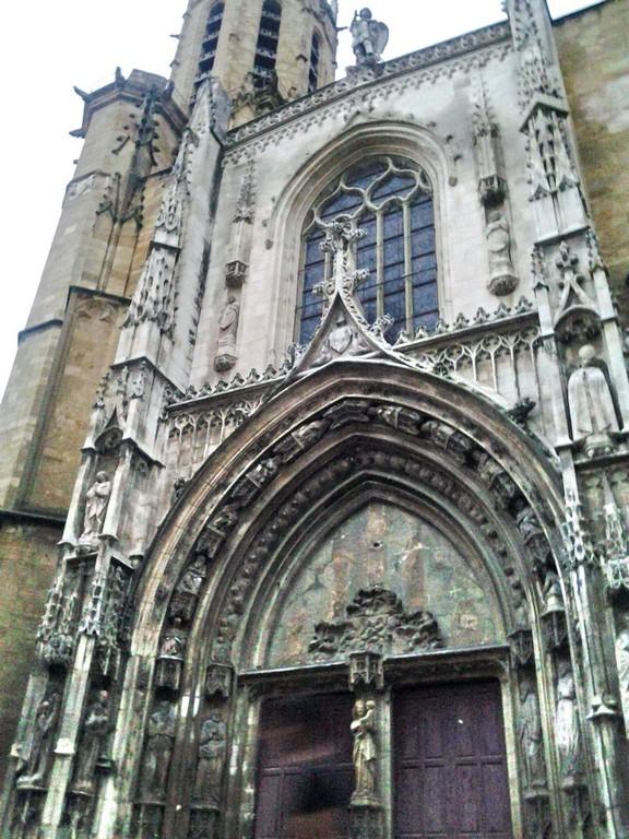 Cathédrale - façade