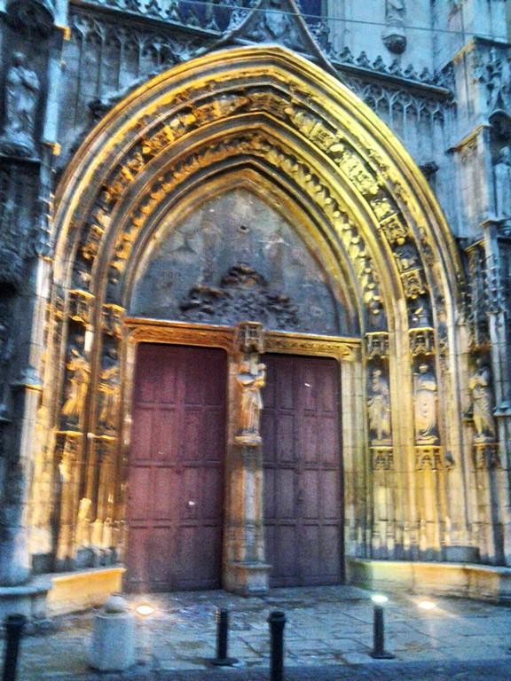 Cathédrale - portail