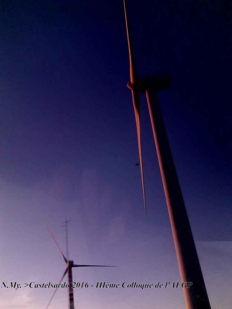 Environs de Tergu - éoliennes