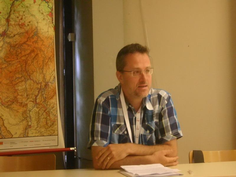 Intervention du directeur du département de géographie