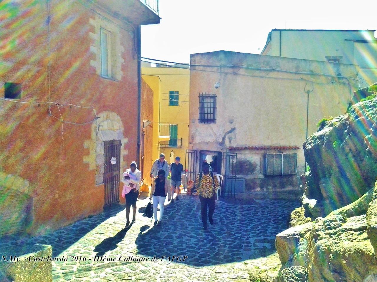 Castelsardo - vieille ville