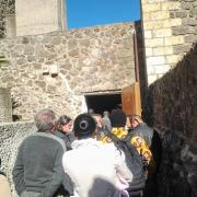 Castelsardo - entrée de la salle du colloque