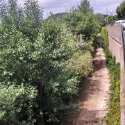 Rive droite de l'Ouvèze
