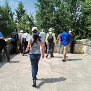 Roaix - vestige du pont sur l'Ouvèze